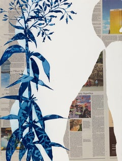 Loser, Botanical, Floral, Nature, Cyanotype, New York Times, Work on Paper, News