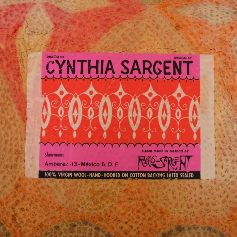 Cynthia Sargent Mexican Modernist Carpet 1960s At 1stdibs