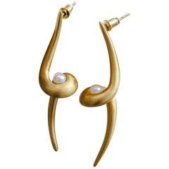 Cyntia Miglio Freshwater Pearls Drop Earrings