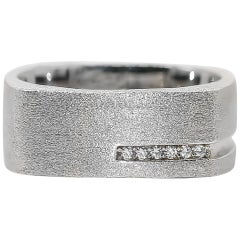 CZ Ring 6 Stones 0.08 Carats Silver