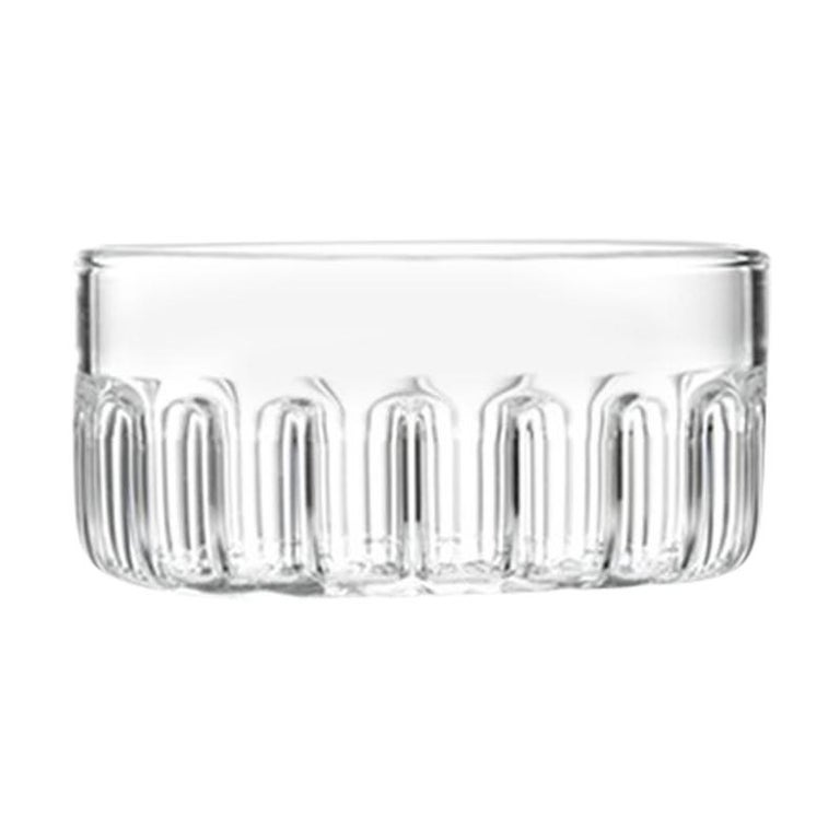 Czech Contemporary Minimal Bessho Medium Aperitif Glass Bowl Handmade, in Stock For Sale