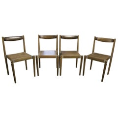 Czech Dinning Chairs, Designed by M.Navratil, 1970s
