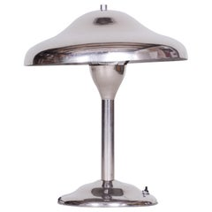 Czech Functionalism Bauhaus Lamp, Architect Frantisek Anyz, Original Condition