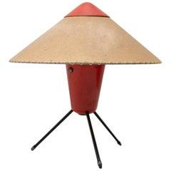 Czech Modernist Tripod Desk Lamp by Helena Frantova for Okolo, Czechoslovakia