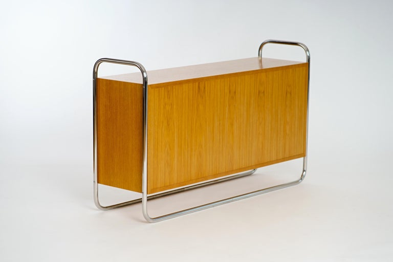 Mid-Century Modern Czech Sideboard from UP Závody, 1950s For Sale