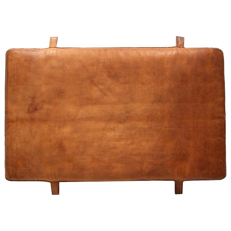 Czech Vintage Leather Gym Mat, 1930s For Sale At 1stdibs