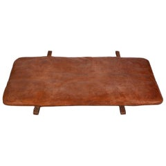 Czech Vintage Leather Gym Mat I, 1930s