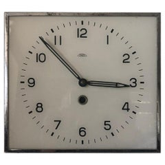 Czechoslovakia Square Wall Clock