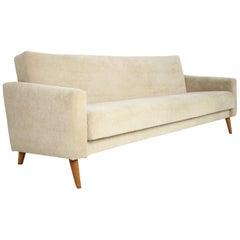 Czechoslovakia Stylish Adjustable 3-Seat Sofa, 1960's