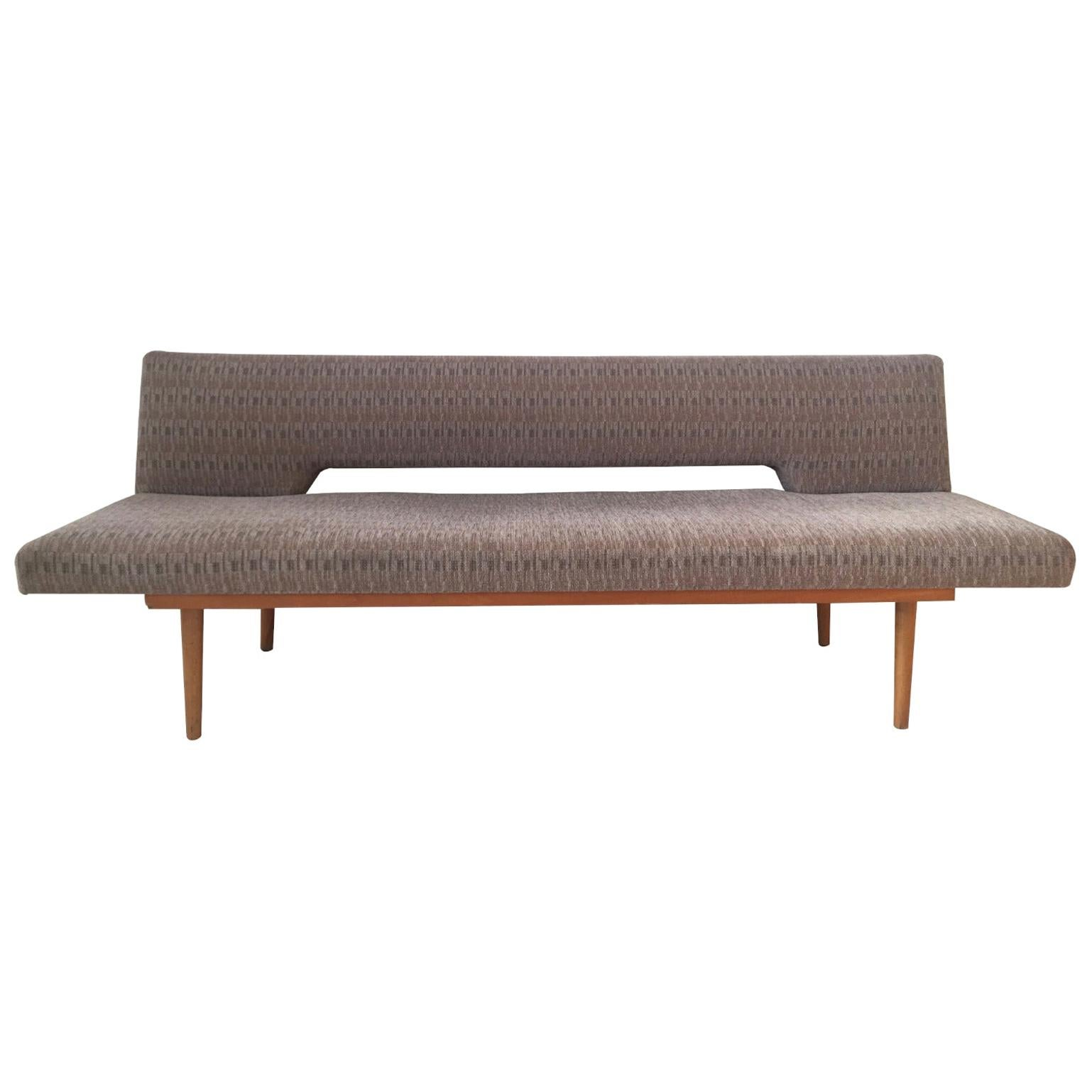 Czechoslovakian Sofa, Sleeper Sofa, Daybed by Miroslav Navratil, 1960s