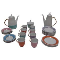Czechoslovakian Tea and Coffee Set