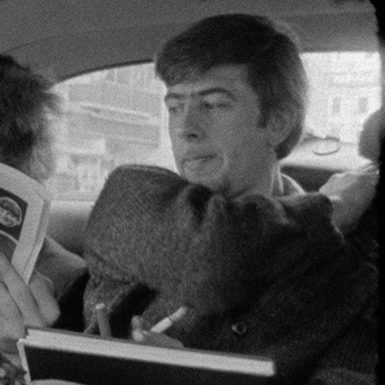 Bob Dylan reading Melody Maker with John Mayall looking on London 1965  1