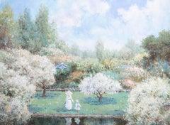 D. Garbett - 20th Century Oil, Summer in the Garden