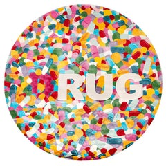 D-Rug Round Rug by Damiano Spelta