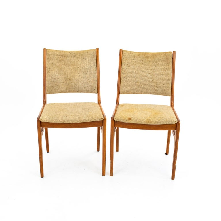 Mid-20th Century D-Scan Mid Century Dining Chair, Set of 3 For Sale