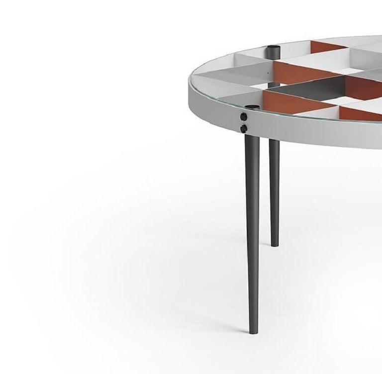 Modern Molteni&C D.555.1 Coffee Table Gio Ponti Design Glass For Sale
