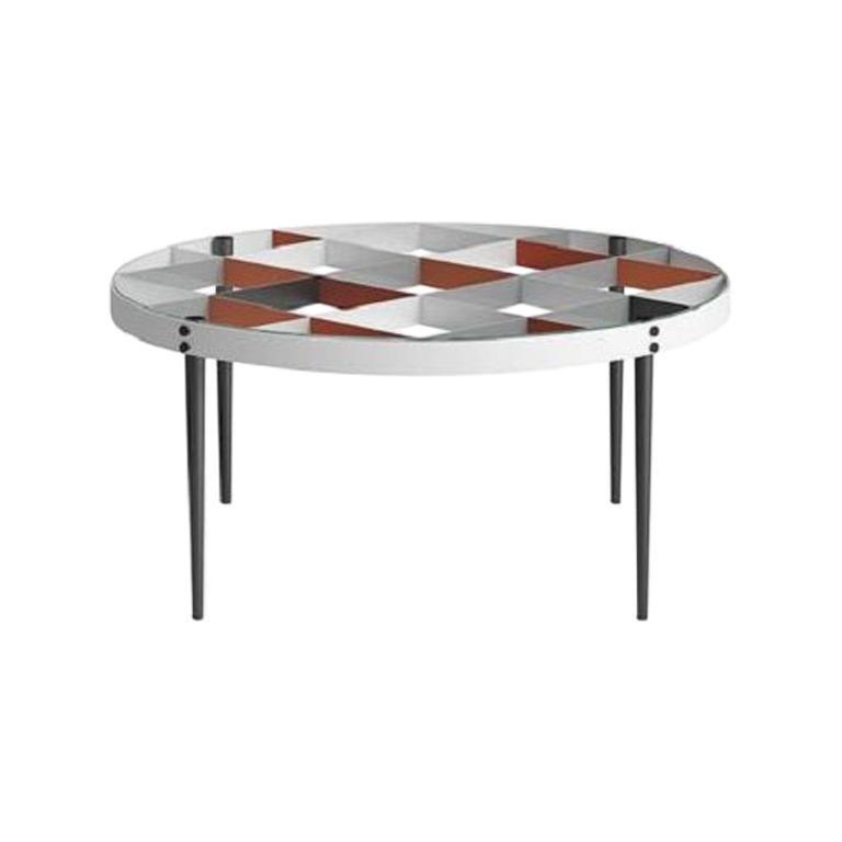 Molteni&C D.555.1 Coffee Table Gio Ponti Design Glass For Sale