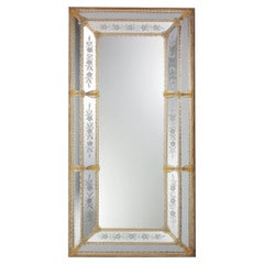 Da Mula Rectangular Murano Glass Mirror
