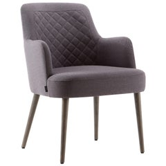 Da Vinci 03 Dark Gray Retro chair