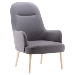 Da Vinci Gray Lounge Armchair