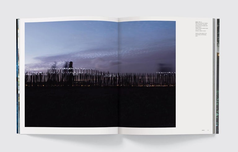 The first monograph on the indefatigable explorer of relationships between people, technology, and environmental issues Dutch artist, Daan Roosegaarde, is one of the most innovative artists to emerge in the past decade. His sculptures and
