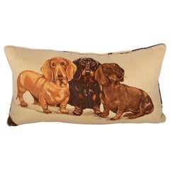 Dachshund Pillow-Down Filled
