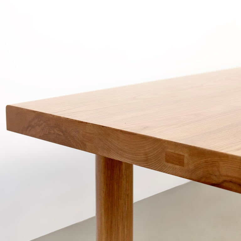 Dada Est. Contemporary Solid Ash Dining Table For Sale 6