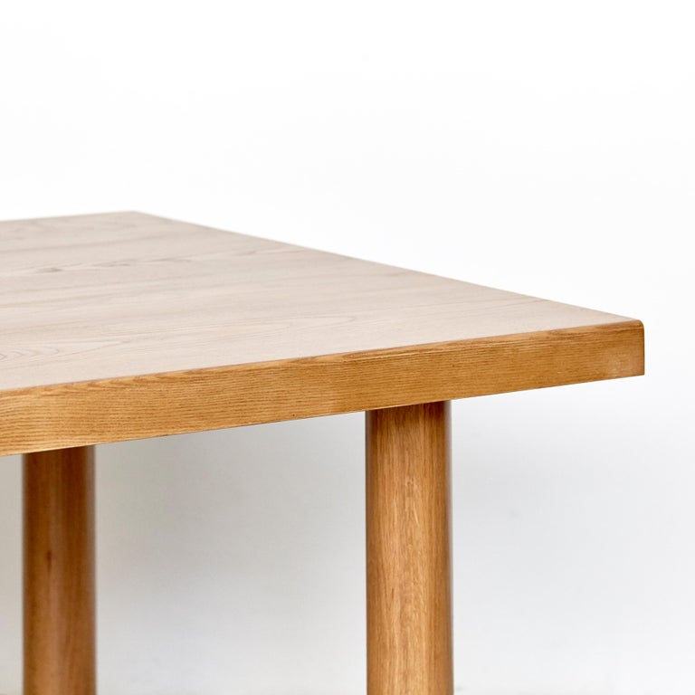 Dada Est. Contemporary Solid Ash Dining Table For Sale 8