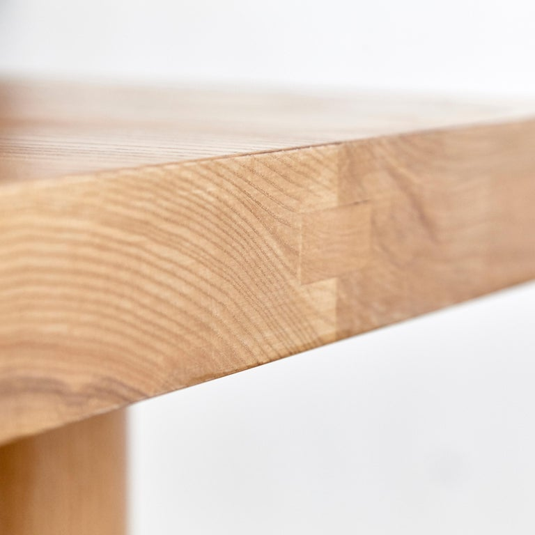 Dada Est. Contemporary Solid Ash Dining Table For Sale 10