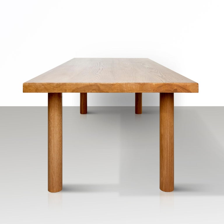 Spanish Dada Est. Contemporary Solid Ash Dining Table For Sale