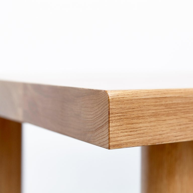 Dada Est. Contemporary Solid Ash Dining Table For Sale 1
