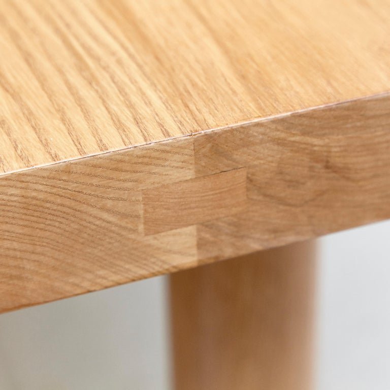 Dada Est. Contemporary Solid Ash Dining Table For Sale 3