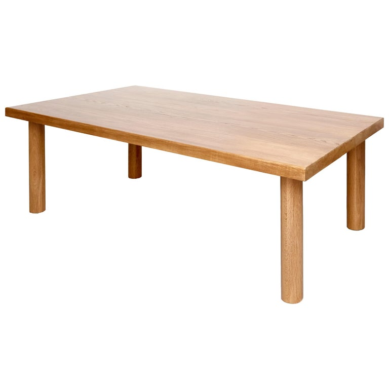 Dada Est. Contemporary Solid Ash Dining Table For Sale