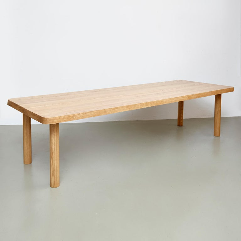 Spanish Dada Est. Contemporary Solid Ash Extra Large Dining Table For Sale