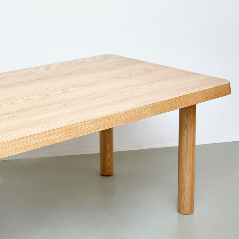 Dada Est. Contemporary Solid Ash Extra Large Dining Table For Sale 1