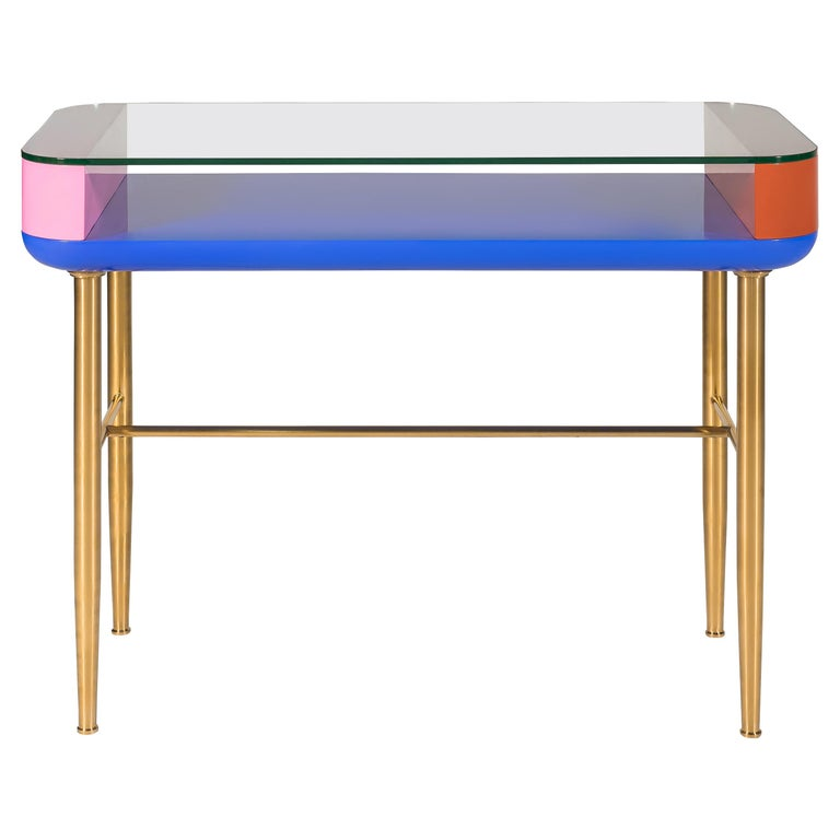 Dadah, Lacquered Console Designed by Nigel Coates For Sale