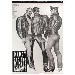 Daddy and the Muscle Academy 1992 U.S. One Sheet Film Poster