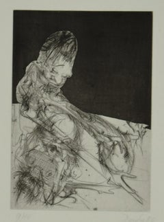 Figure - Original Etching by Dado - 1980