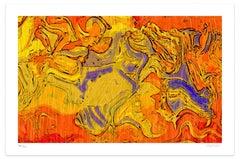 After Botticelli - Original Giclée by Dadodu - 2008