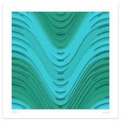 Blue Wind - Original Giclée Print by Dadodu - 2011
