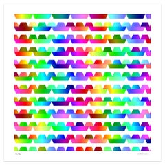 Color Waves - Original Giclée Print by Dadodu - 2013