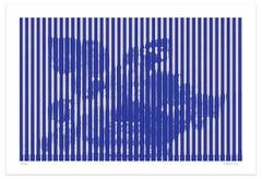 Grey Lines - Original Giclée Print by Dadodu - 2016