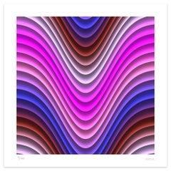 Pink Wind - Original Giclée Print by Dadodu - 2011