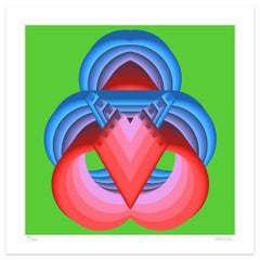 Symmetry - Original Giclée Print by Dadodu - 2019