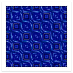 Tassellation 5 - Original Giclée Print by Dadodu - 2003