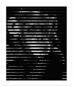 White Lines - Original Giclée by Dadodu - 2016