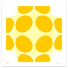Yellow Composition - Original Giclée Print by Dadodu - 2010