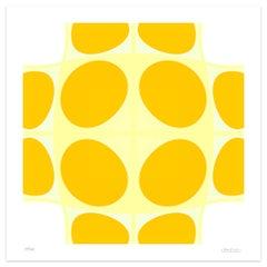 Yellow Composition - Original Giclée Print by Dadodu - 2010