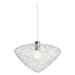 Daffy Diamond 'Silver' by Ango, Handcrafted Pendant Lights in Jewelry Look