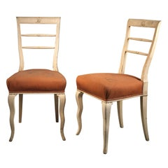 Dagobert Peche & Wiener Werkstaette Attributed Art Deco Chairs, 1920